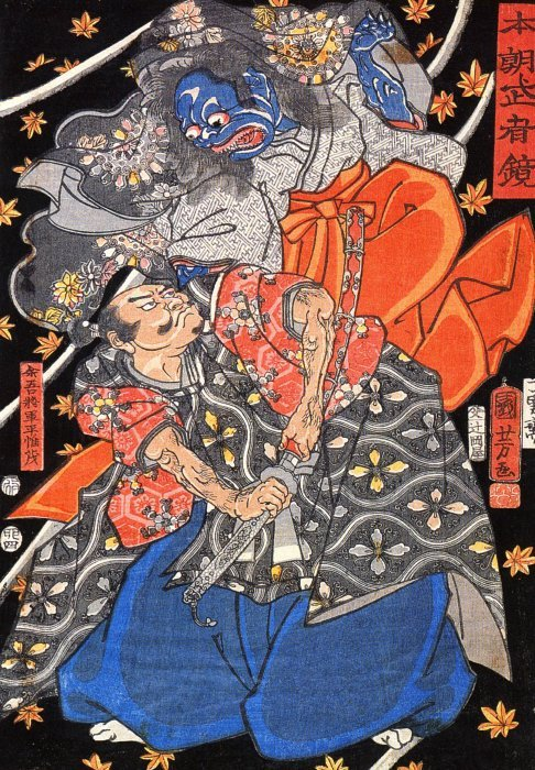 Kuniyoshi - Mirror of Warriors of Our Country (S87
